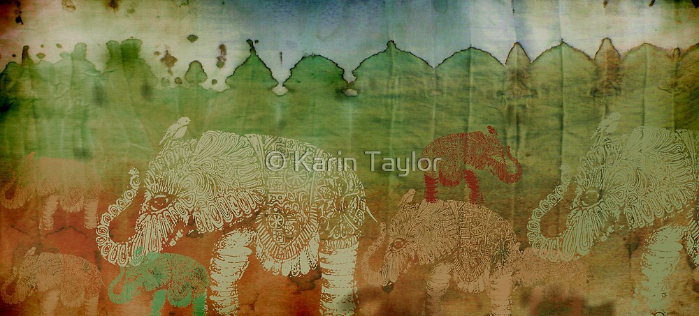 Lost City of Elephants Earth by © Karin Taylor