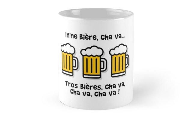 In'ne beer, cha va ... Beers, go, va go! by humour-chti
