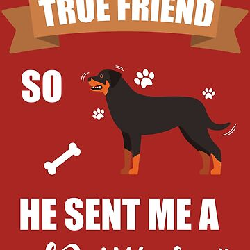 Rottweiler Puppy Dog Owner Gifts by GalantiShop