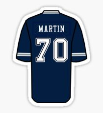 Zack Martin Jersey Sticker