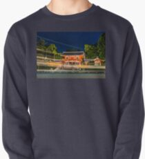Orange Temple Pullover Sweatshirt