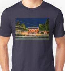 Orange Temple Slim Fit T-Shirt