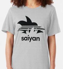 Saiyan Goku - Sports Design Slim Fit T-Shirt