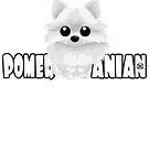 Pomeranian (White) - DGBigHead by DoggyGraphics