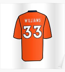 Dave Williams Jersey Poster