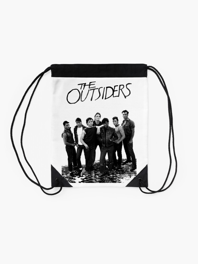 Alternate view of The Outsiders Drawstring Bag