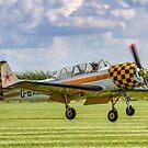 Aerostar Iak-52 G-BXJB by Colin Smedley
