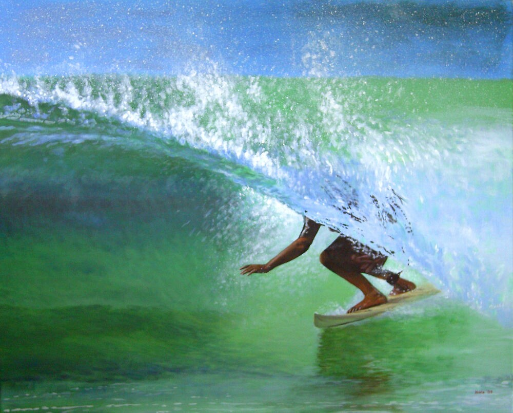 Surf #2 by bryanhibleart