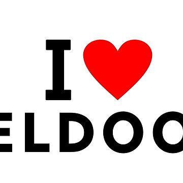 I love Apeldoorn city by tony4urban