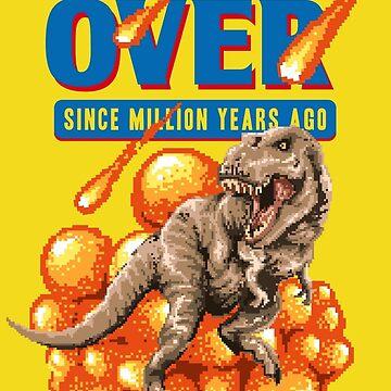 Game Over Dino by stylebytara