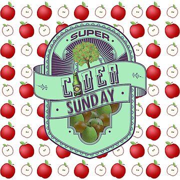Super Cider Sunday by GoMerchBubble