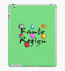 Pokemon Gym Badges: Kanto iPad Case/Skin