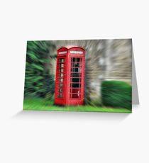 Tellingbone box Greeting Card