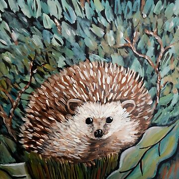 Hedgehog Painting by Extreme-Fantasy
