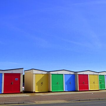 Beach Huts by Vaengi