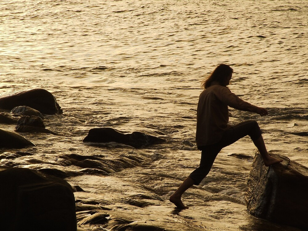 One step at a time-Noosa National Park by karenphotos