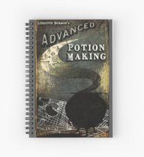 Cuaderno de espiral libro magico