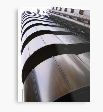 Up, up and away - Lloyds Building, London Metal Print