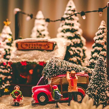 Christmas Trees and Toys by RedAngelDesigns