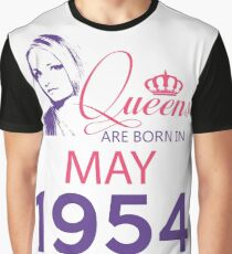 It's My Birthday 64. Made In May 1954. 1954 Gift Ideas. Graphic T-Shirt