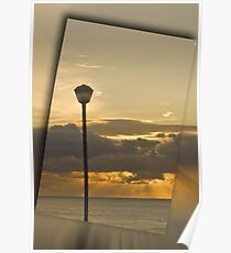 Bluff sunrise Poster