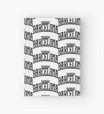 Cuaderno de tapa dura Barcelona (Black Print)