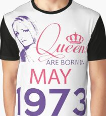 It's My Birthday 45. Made In May 1973. 1973 Gift Ideas. Graphic T-Shirt