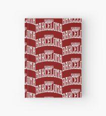 Cuaderno de tapa dura Barcelona (White Print)
