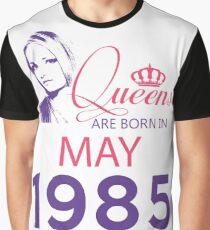 It's My Birthday 33. Made In May 1985. 1985 Gift Ideas. Graphic T-Shirt