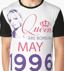 It's My Birthday 22. Made In May 1996. 1996 Gift Ideas. Graphic T-Shirt