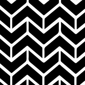 Minimal chevron pattern by adelemawhinney