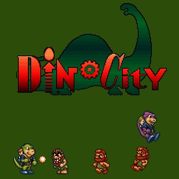 Dino City by DucktuR