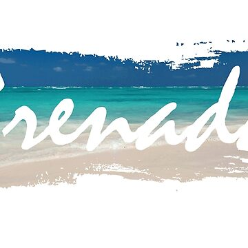 Grenada - Beach Background  by identiti