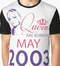 It's My Birthday 15. Made In May 2003. 2003 Gift Ideas. Graphic T-Shirt