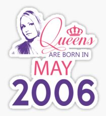 It's My Birthday 12. Made In May 2006. 2006 Gift Ideas. Sticker