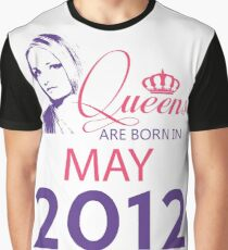 It's My Birthday 6. Made In May 2012. 2012 Gift Ideas. Graphic T-Shirt