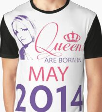 It's My Birthday 4. Made In May 2014. 2014 Gift Ideas. Graphic T-Shirt