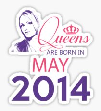It's My Birthday 4. Made In May 2014. 2014 Gift Ideas. Sticker