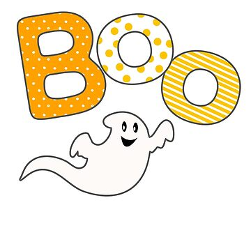 Ghost Boo Halloween girl by Collagedream