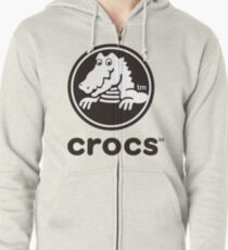 Corcs crocodile Zipped Hoodie