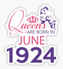 It's My Birthday 94. Made In June 1924. 1924 Gift Ideas. Sticker