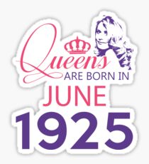 It's My Birthday 93. Made In June 1925. 1925 Gift Ideas. Sticker