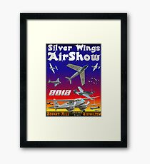 Silver Wings Airshow Design-2 Framed Print