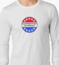 SLARTIBARTFAST FOR PRESIDENT Long Sleeve T-Shirt