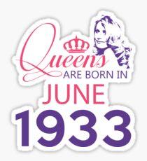 It's My Birthday 85. Made In June 1933. 1933 Gift Ideas. Sticker