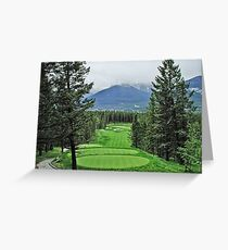 Silver Tip Golf Course Alberta, Canada Greeting Card