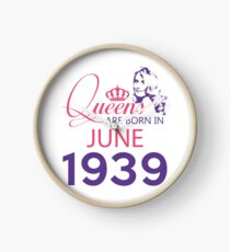 It's My Birthday 79. Made In June 1939. 1939 Gift Ideas. Clock