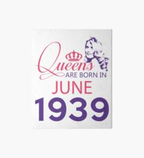 It's My Birthday 79. Made In June 1939. 1939 Gift Ideas. Art Board