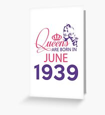 It's My Birthday 79. Made In June 1939. 1939 Gift Ideas. Greeting Card