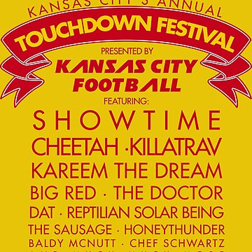 TOUCHDOWN FESTIVAL by heckyesco